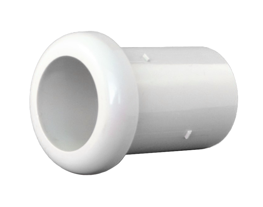 Hose End Cap, White (Rapid Flex)