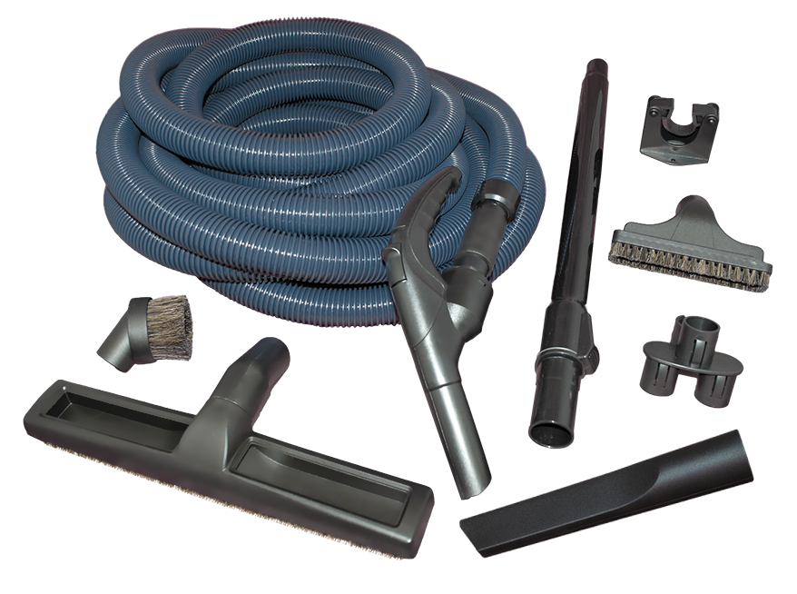 Garage Kit (Hide A Hose inlet) 40' hose (mini-cuff)